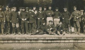 Prisoners of War, East Station, Peterborough